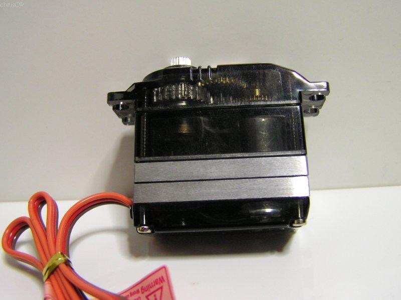 Durchsichtiges Gehäuse des Bluebird 660MG+HS