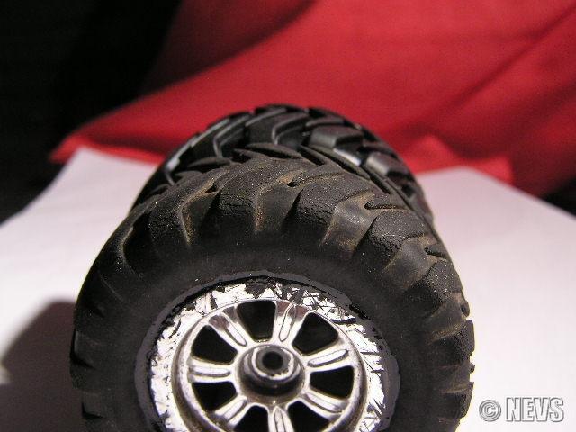 Vergleich ZK-2 Monstertruckräder alt und neu